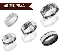 Antler Wedding Rings by Top Wedding Bands For Your Country Boy Camokix
