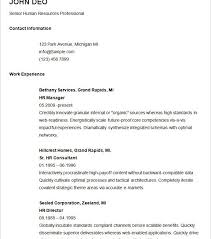 Free Basic Resume Template Terrific Basic Resume Sle 4 Basic Resume Template 51 Free