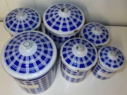 Kitchen Canisters Blue by 100 Kitchen Canisters French 100 Cream Kitchen Canisters