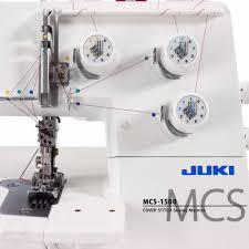 juki mcs 1500 cover and chain stitch machine quality sewing u0026 vacuum
