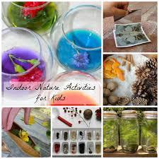 Indoor nature activities for kids how wee learn