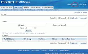 ovm console getting started with oracle vm manager
