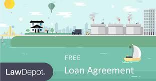 sample loan agreement form doc prin vawebs