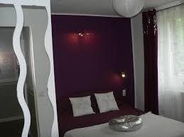 couleur aubergine chambre chambre gris et aubergine collection avec deco chambre aubergine et