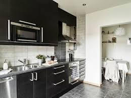apartments black wood veneer cabinet interior oak dark laminates