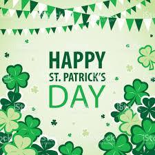 st patricks day parade and celebration stock vector art 640102712