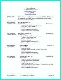 Vbscript Resume Cnc Machinist Resume Template Resume For Your Job Application