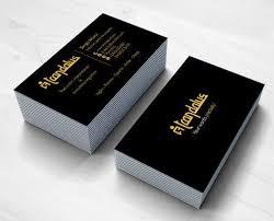 tarjeta de visita diseo diseño de tarjetas de visita para trandalus una red de traductores