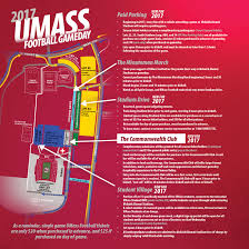 University Of Tennessee Parking Map by Umass Athletics
