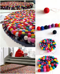 Fun Projects To Do At Home felt ball mat tutorial praktic ideas find fun art projects to do