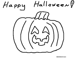 merry halloween coloring pages
