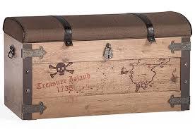 black pirate pirate treasure chest storage and seating