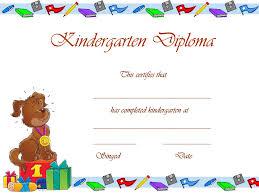 preschool certificates 6 best images of free printable preschool certificates free