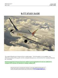 b777 study guide emirates takeoff turbine engine failure