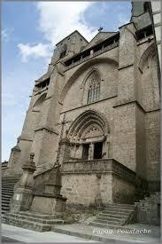 abbaye de la chaise dieu abbaye de la chaise dieu l auvergne vue par papou poustache