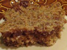 lazy daisy coconut oatmeal cake recipe oatmeal cake coconut