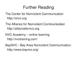 nonviolent communication nvc