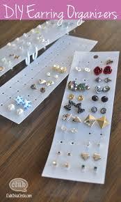 organize stud earrings earring organizer ideas jewelry