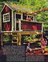 2639 backyard playhouse планы детские планы на открытом воздухе