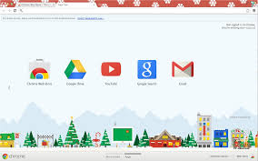 chrome themes cute chrome themes for christmas fun for christmas
