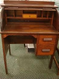 Antique Secretary Desk Value by Paris Mfg Co 640 Childs Oak Rolltop Desk With Cha