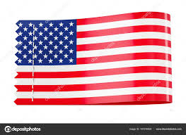 Flag Clothing Clothing Tag Label With Flag Of Usa 3d Rendering U2014 Stock Photo