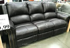Black Leather Reclining Sofa And Loveseat Leather Reclining Sofa And Loveseat Power Bonded Set