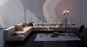 Furniture  White Sectional Sofa With Italian Sofa Furniture Style - Modern sofa italian design
