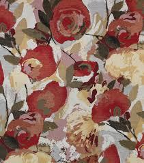 Red Wine Upholstery Richloom Studio Print Fabric Wilbur Wine Joann