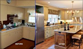 awesome before and after kitchen renovations images home design