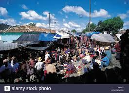 market near church of santo tomas town of chichicastenango