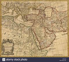 South West Asia Map by 1721 Map Of Turkey Arabia And Persia And Environs Including
