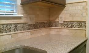 kitchen backsplash travertine kitchen backsplash travertine subway glass mosaic travertine and