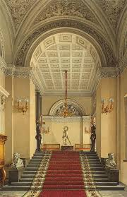 interiors of the winter palace the personal entrance to the