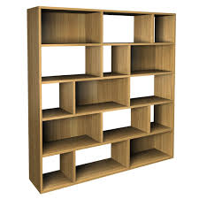 Cool Shelving Floating Brown Wooden Books Shelves With Glass Placed On Corner