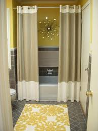 Shower Curtains For Small Bathrooms Bathroom Shower Curtain Ideas Designs Home Decorating Interior