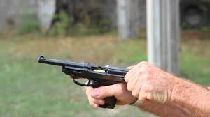 shooting the walther p38 pistol youtube