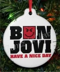 bon jovi a day smirk ornament 15715675