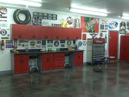 prettifying garage with cabinets sears as the useful space ideas
