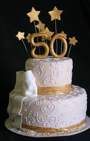 50 birthday cake pink cake gold and light ivory 50th birthday cake