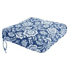 outdoor cushion collection blue white floral target