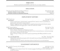 sle college resume for accounting students software objective in resume for ojt accounting students sle internship