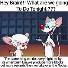Pinky Meme - smartcash meme 5 pinky and the brain meme series smartcash steemit