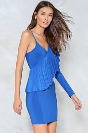 one of a kind one shoulder dress shop clothes at nasty gal