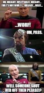 Worf Memes - worf imgflip