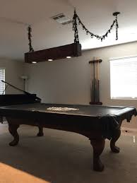 rustic pool table lights rustic pool table light projects to try pinterest pool table