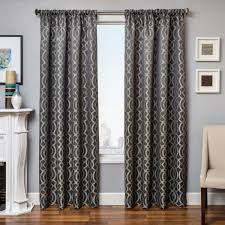 Pewter Curtains Softline Home Fashions Drapery Exeter Panel