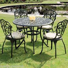 Cast Aluminium Outdoor Furniture by Cast Aluminium Garden Furniture Ebay