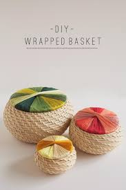 ikea baskets tell diy wrapped basket tell love and party