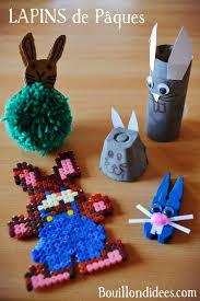 bricolage noel avec rouleau papier toilette diy bricolage pâques lapins à gogo